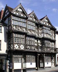 Half-timbered building, Ludlow