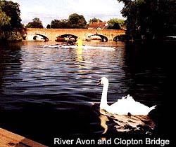 River Avon and Clopton Bridge