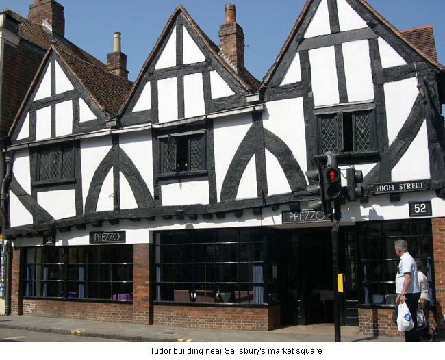 Salisbury Tudor Building