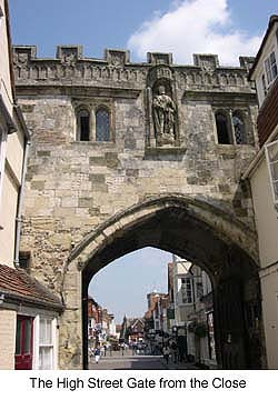 High Street Gate Salisbury