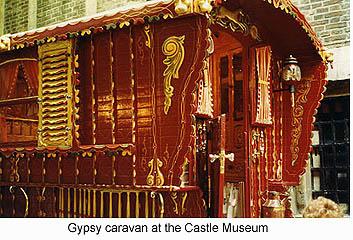 Gypsy Caravan, York Castle Museum