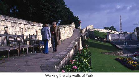York Town Walls