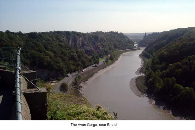 Avon Gorge Near Bristol