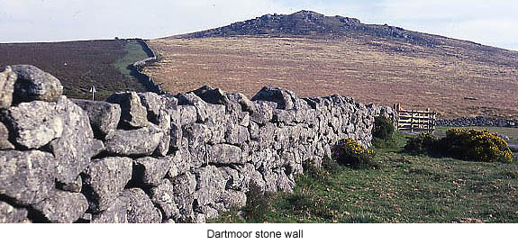 Dartmoor Stone Wall
