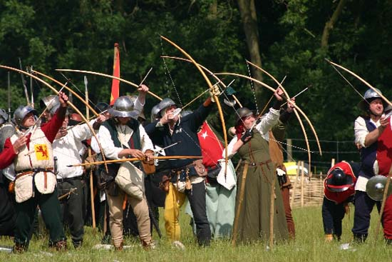 Archery Reenactment