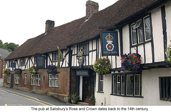 Salisbury Rose and Crown