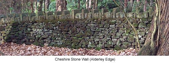 Cheshire Stone Wall
