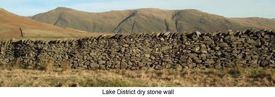 Lake District Dry Stone Wall