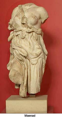 Maenad Statue