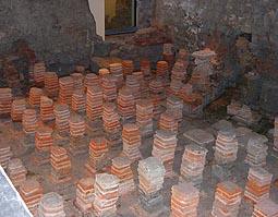 Bath Hypocaust Pilae