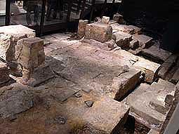 Bath temple floor