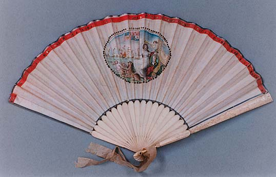 Fan Commemorating Battle of the Nile