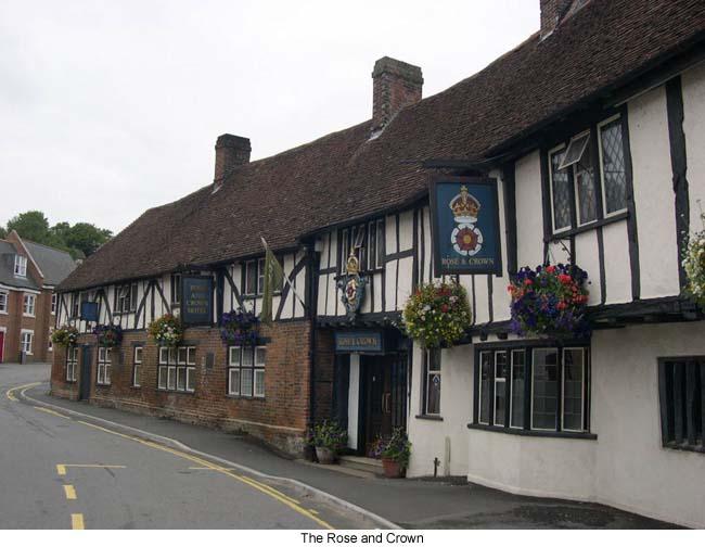 Salisbury Rose and Crown, a 13th-century coaching inn