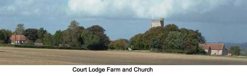 Court Lodge Farm and Church